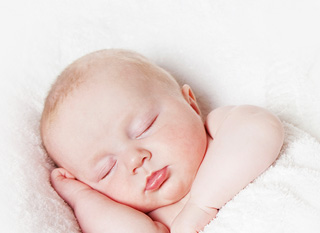 A kisbabák érzékeny bőre